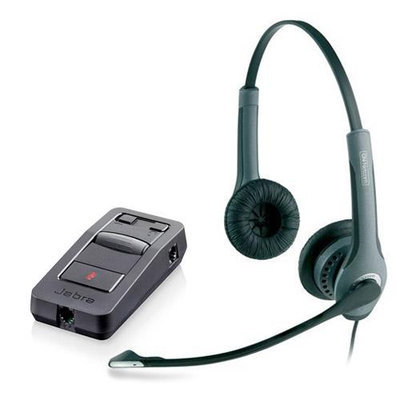 Jabra GN 2025 Duo NC with LINK 850 Duo Noise Canceling Headset