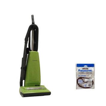 Panasonic MC-UG223 + MC-V270B Upright Bag Vacuum Cleaner W/ Powerful 12-Amp Motor And Belts