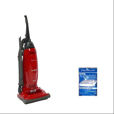 Panasonic MC-UG471 + MC-V194H 12 Amp Upright Vacuum Cleaner W/ QuickDraw On-Board Tools And Filter