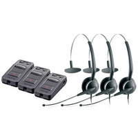 Jabra GN 2119 Mono 3in1 ST with LINK 850 Amp-3 Mono SoundTube 3-in-1 Headset