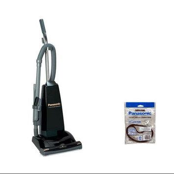 Panasonic MC-V5210 + MC-V270B Upright Vacuum Cleaner W/ Powerful 10 Amp Motor And Vacuum Bags