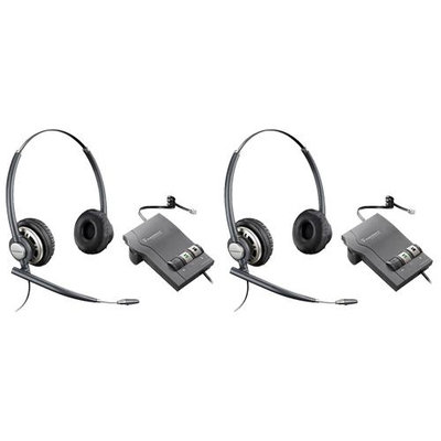 Plantronics EncorePro HW301N with M22-2 Stereo Corded Headset