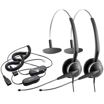 Jabra GN 2119 Mono 3in1 ST with GN1200 Cable-2 Mono SoundTube 3-in-1 Headset