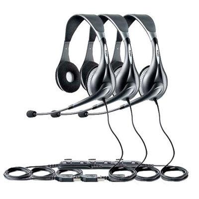 Jabra Voice 150 Duo (3-Pack) UC Voice 150 Duo Headset