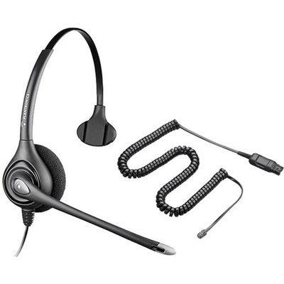Plantronics Avaya HW251N Noise-Canceling Mono Corded Headset