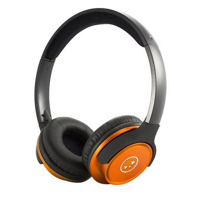 Able Planet Clear Voice TL210- Metallic Orange Stereo Headphones
