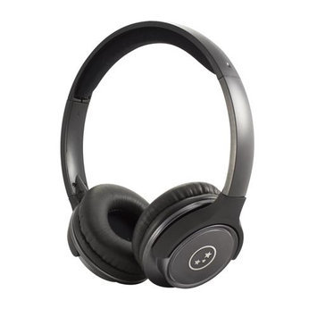 Able Planet Clear Voice TL210- Metallic Gun Metal Stereo Headphones