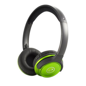 Able Planet Clear Voice TL210- Metallic Green Stereo Headphones