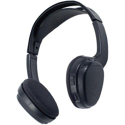PowerAcoustic POWWLHP100B Power Acoustik WLHP-100 Wireless Infrared Headphones