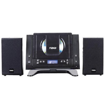 Naxa NAXNSM437B Naxa MP3/CD Micro System with PLL Digital AM/FM Stereo Radio