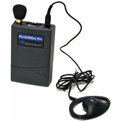 Williams Sound PKTPRO1-N01 Pocketalker Pro with Neckloop