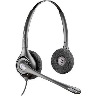 Plantronics SupraPlus H261N Double Earpiece Headset w/ Noise Cancelling