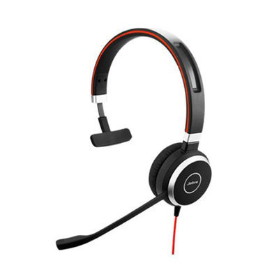 Jabra Evolve 40 Mono Microsoft Optimized Mono Corded Headset