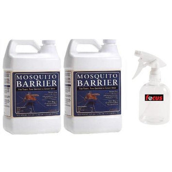 Combined Distributors Mosquito Barrier 2000 Liquid Spray, 1 Gallon ( 2 pack)