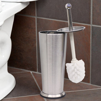 Sweet Home Collection Tapered Toilet Brush and Holder Set