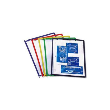 Durable InstaView Desktop Reference System Replacement Sleeves, Assorted Colors 5548-00