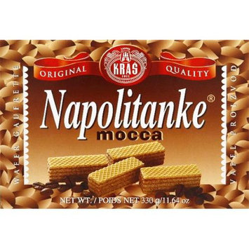 Kras Wafer Napolitanke Mocca -Pack of 12