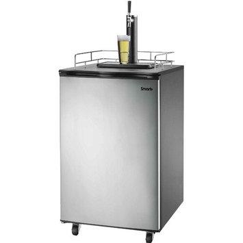 Smart Plus Products Smart+ Products Freestanding Full Size Kegerator Keg Fridge Beer Dispenser Stainless Steel SPP155BDSS