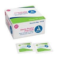 Dynarex Sterile Alcohol Prep Pads, Medium, 2000/Cs