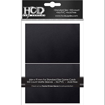 Hc & D Supplies DP: Matte: BK (100) 96754