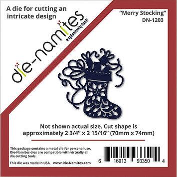 Die-Namites Die-Merry Stocking, 2.75