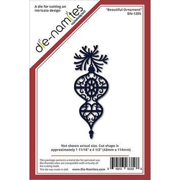 Die-Namites Die-Beautiful Ornament, 1.6875 X4.5