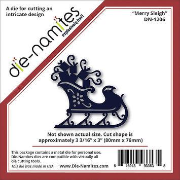 Die-Namites Die-Merry Sleigh, 3.1875 X3