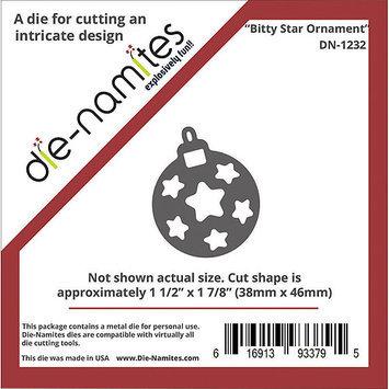 Die-Namites Bitty Die-Star Ornament, 1.5