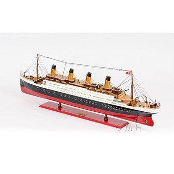 Old Modern Handicrafts Old Modern Handicraft Titanic Painted Boat - Medium
