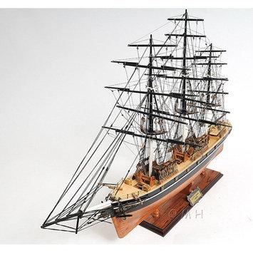 Old Modern Handicrafts Cutty Sark No Sail Ship Model