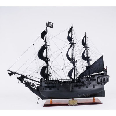 Old Modern Handicraft Inc Old Modern Handicraft Black Pearl Pirate Ship