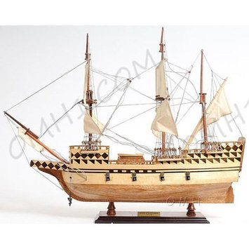 Old Modern Handicraft May Flower Boat - Small