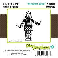 Die-Versions DVW289 Die-Versions Whispers Die-Nutcracker Sweet 2.687X3.125