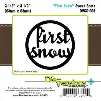 Die-Versions DVSS062 Die-Versions Sweet Spots Die-First Snow 2.5 in. X2.5 in.