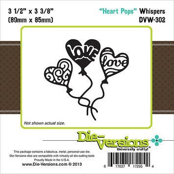 Die-Versions Whispers Die-Heart Pops, 3.5