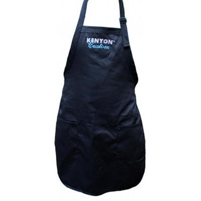 Kenyon A70015 Apron with 2 Pockets - Black