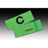 Kwik Goal Captain C Arm Band in Fluorescent Green