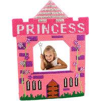 Framous Kits Princess Pink Framous Plastic Canvas Kit-3.1