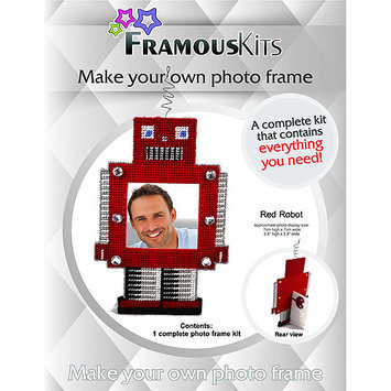 Framous Kits Robot Framous Plastic Canvas Kit-2.8