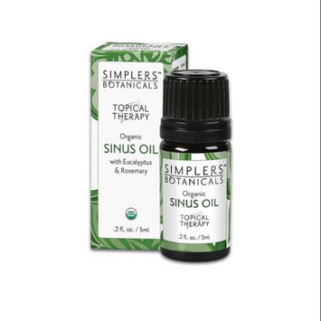 Simplers Botanicals - Topical Therapy Organic Sinus Oil - 5 ml.