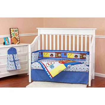 Dream On Me All-Star Athlete 5 Piece Reversible Crib Bedding Set