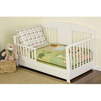 Dream On Me Safari Animals 4 Piece Toddler Bedding Set