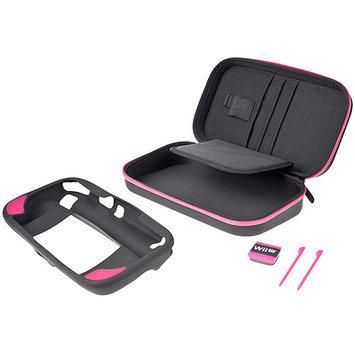 PowerA CPKA105444-01 WiiU Gamer Essentials Kit Pink