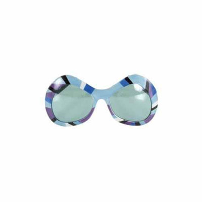 Elope 80's Mod Sunglasses in Purple, Green Blue