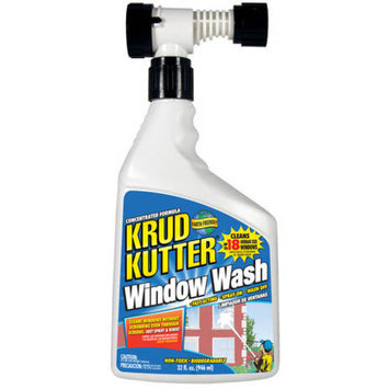 Krud Kutter WW32H/4 32 Oz Concentrated Hose End Window Wash (4 Pack)