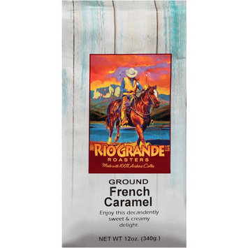 Victor Allen Rio Grande Roasters French Caramel Ground Coffee, 12 oz