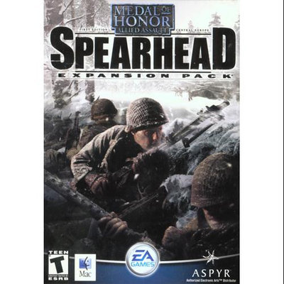 Aspyr 10280 Aspyr Medal Of Honor Expansion Pack Spearhead For Mac