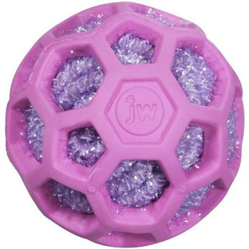 JW Cataction Cat Rattle Ball Toy Hol-ee Rubber Ball