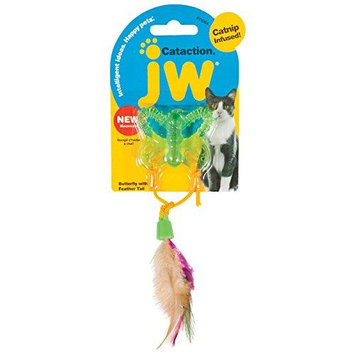JW Pet Cataction Butterfly with Tail