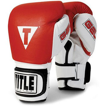 Title Boxing Title Gel World Bag Gloves - Medium - Red